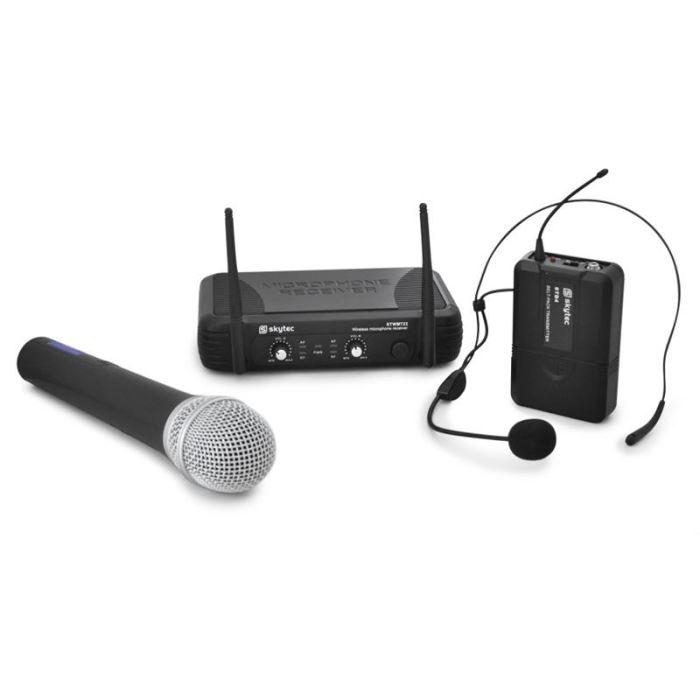 micro casque chant sans fil