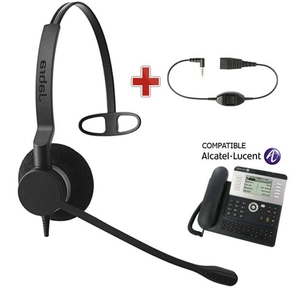 micro casque compatible alcatel 4039