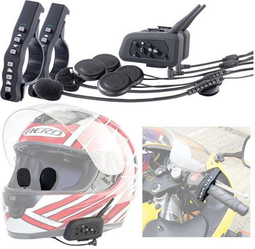 micro casque de moto