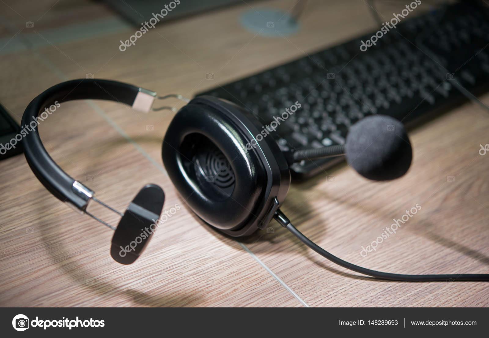 micro casque enregistrement