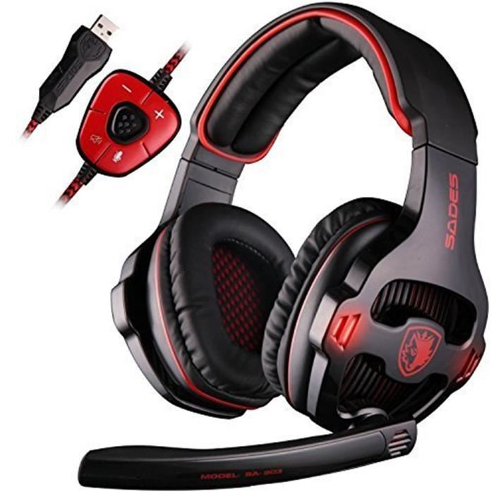 micro casque gamer 7.1