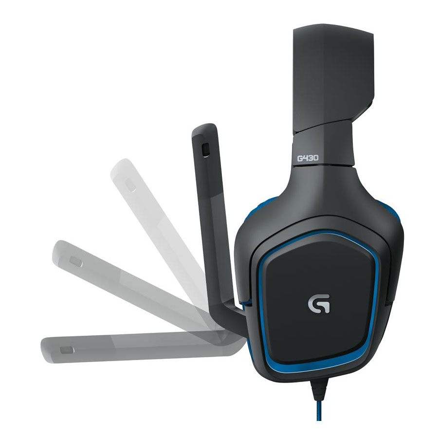 micro casque logitech g430