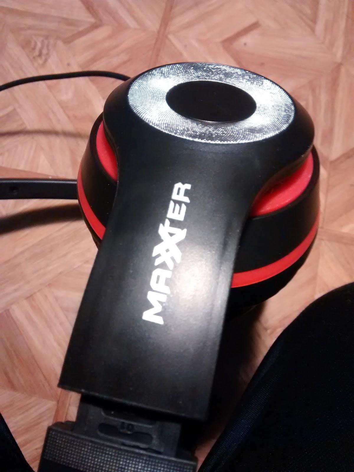 micro casque maxxter