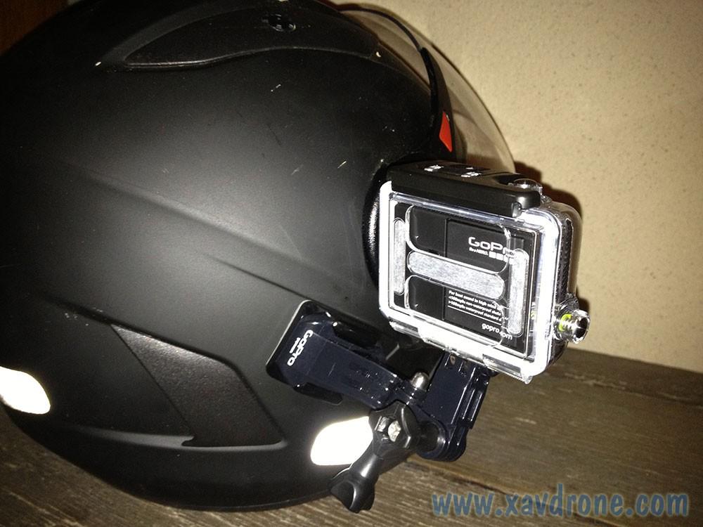 micro casque moto gopro
