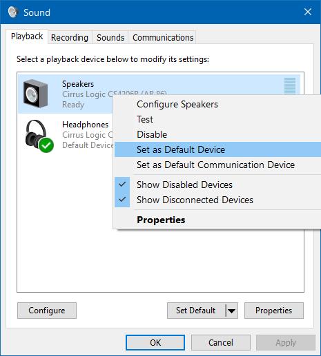 micro casque ne fonctionne pas windows 8
