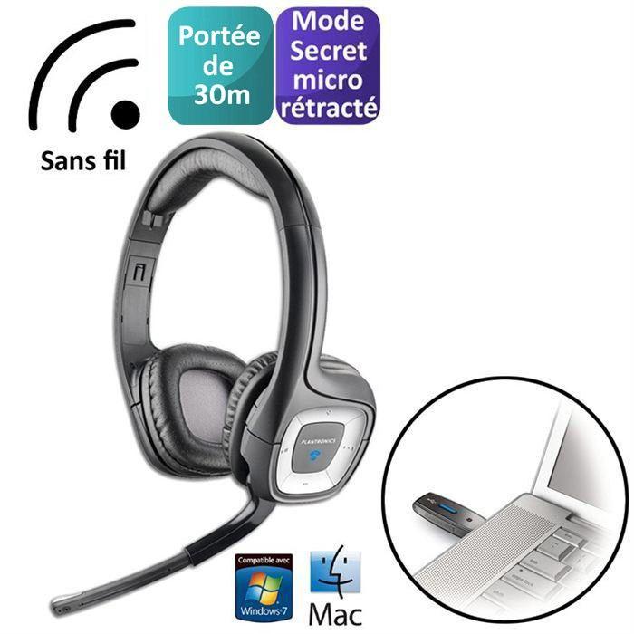 micro casque pc sans fil