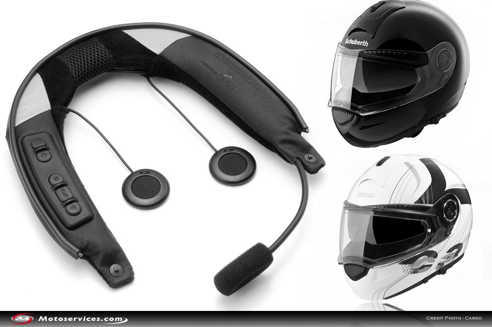 micro casque sans fil moto