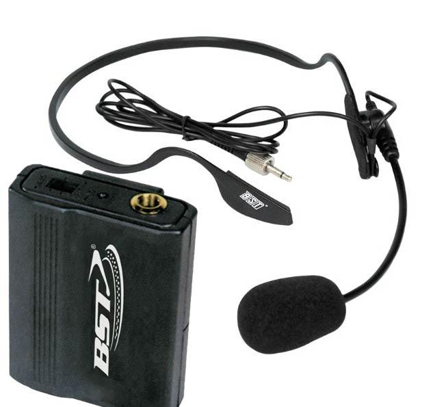 micro casque sans fil pour chanteur