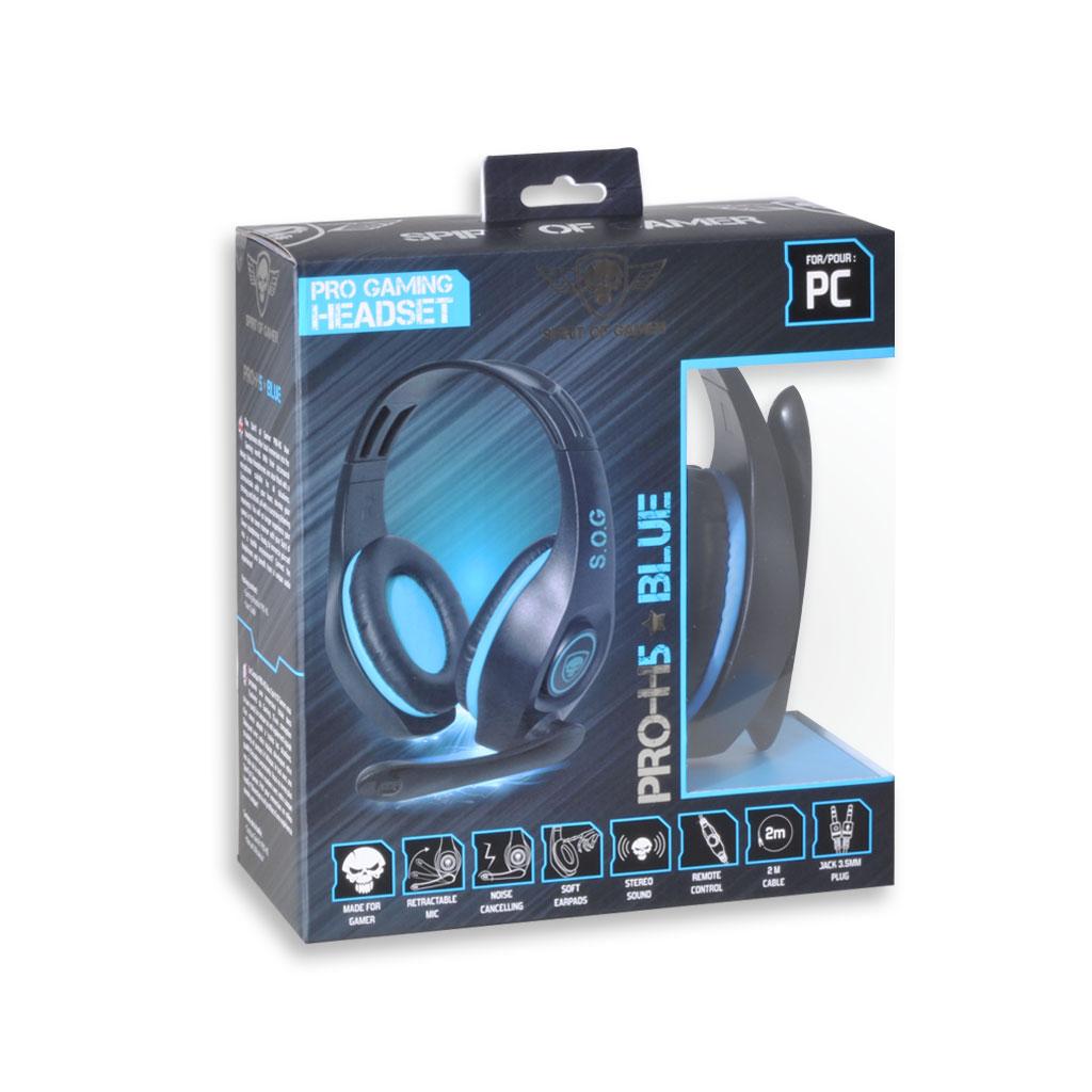 micro casque spirit of gamer pro h5