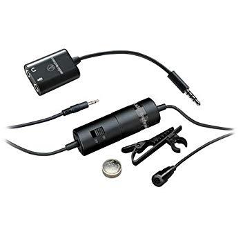micro cravate audio-technica mini jack atr3350