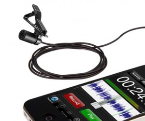 micro cravate pour smartphone