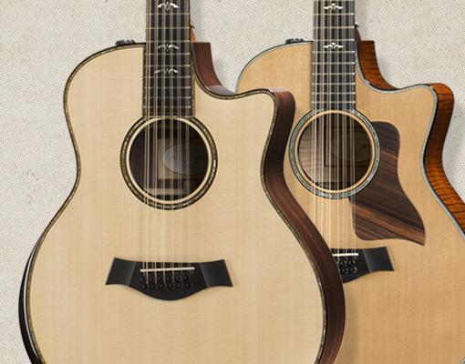 micro guitare 12 cordes
