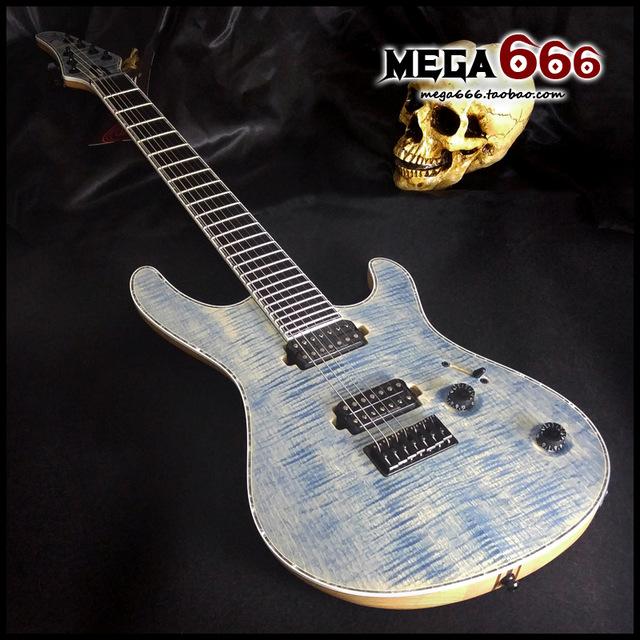 micro guitare 7 cordes
