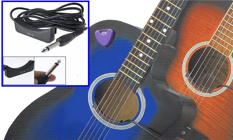 micro guitare acoustique nylon