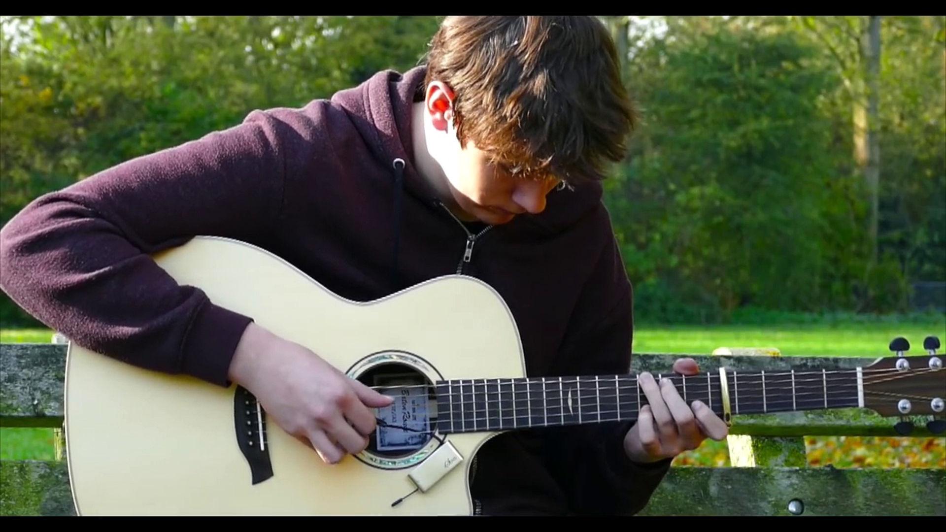 micro guitare acoustique sans fil