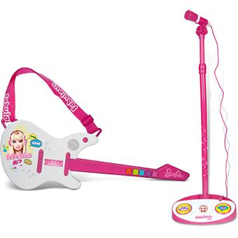 micro guitare barbie