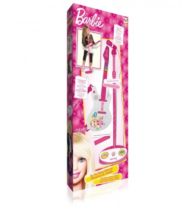 micro guitare barbie