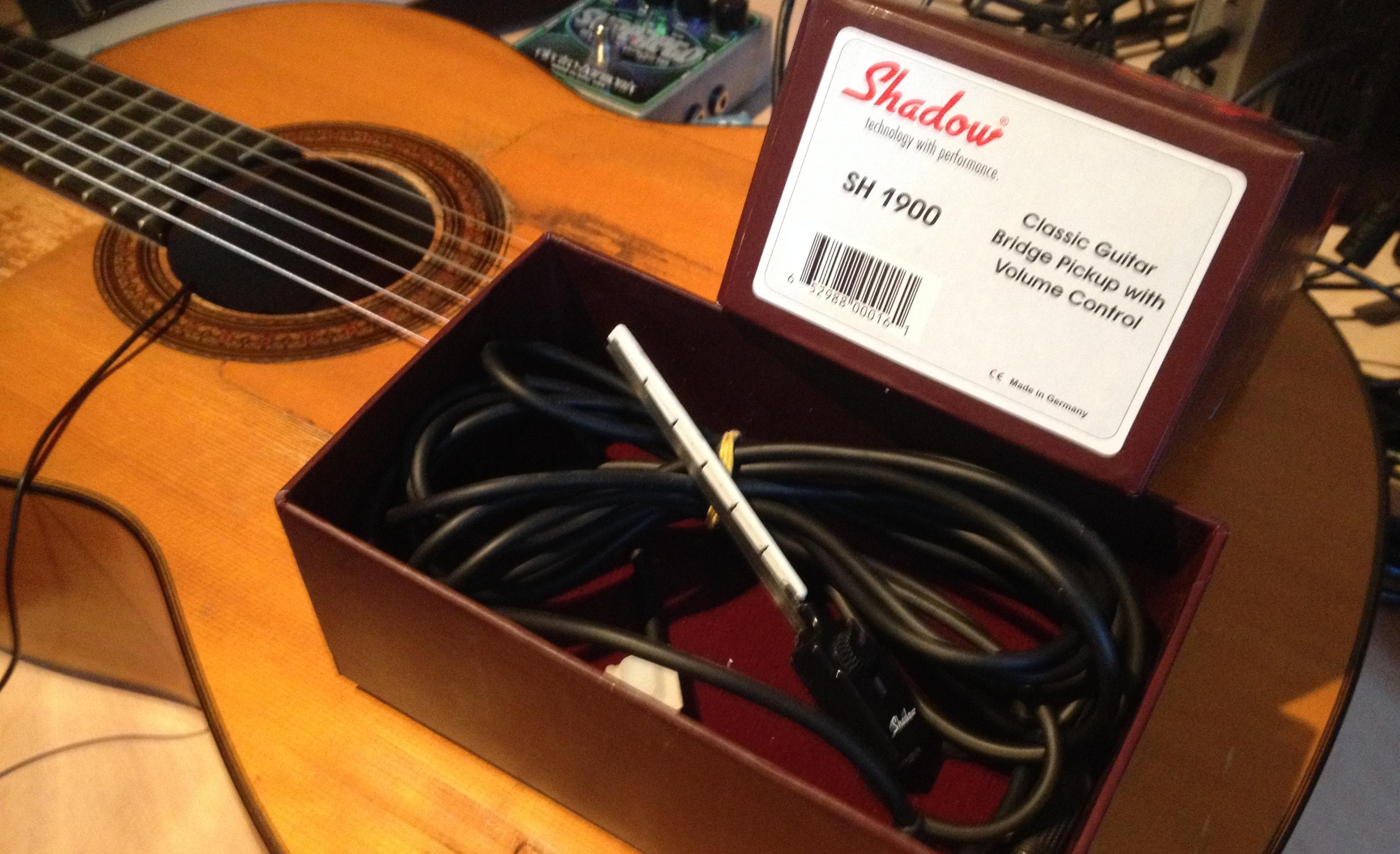 micro guitare classique shadow sh1900