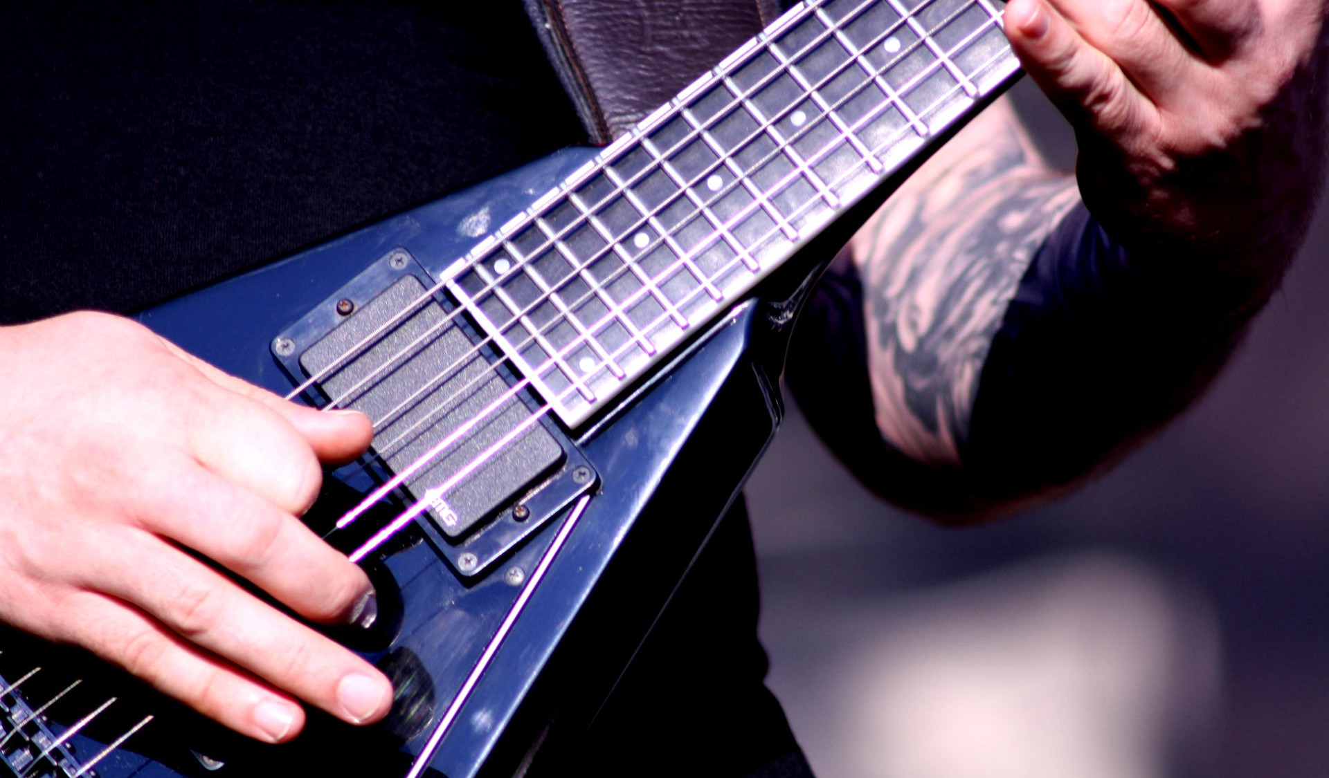 micro guitare death metal