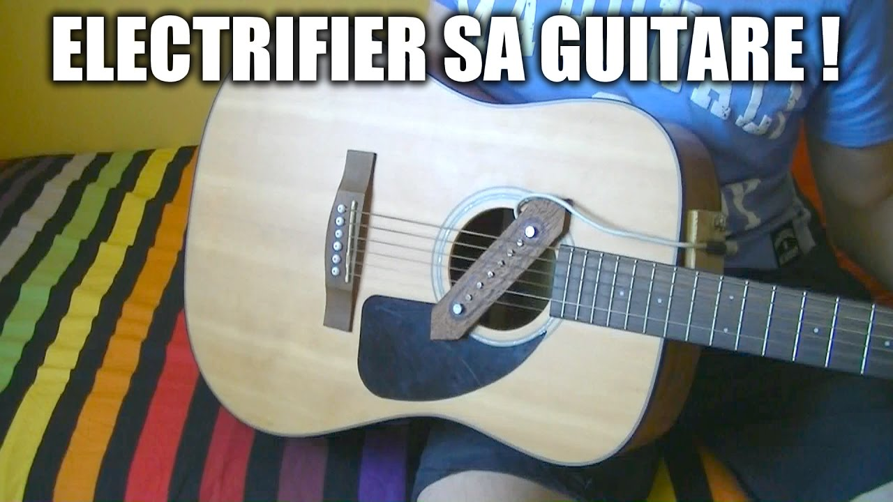 micro guitare demagnetise