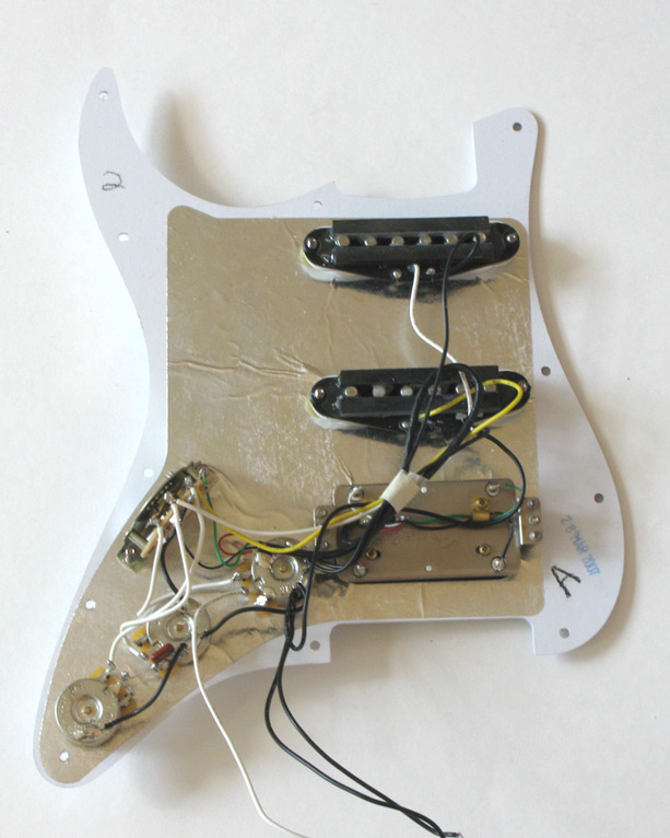 micro guitare fender stratocaster