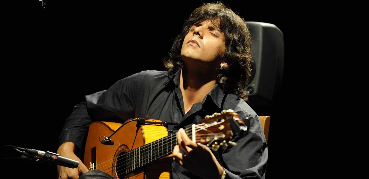 micro guitare flamenca