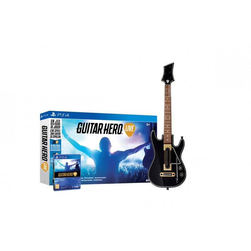 micro guitare hero live ps4