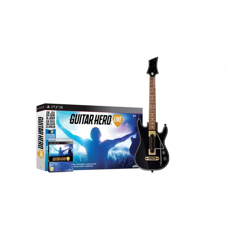 micro guitare hero live