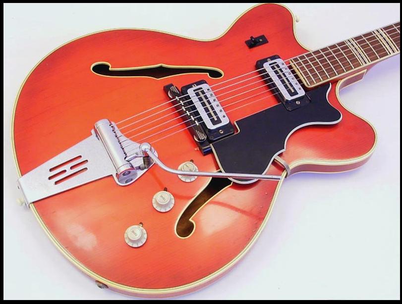 micro guitare hofner