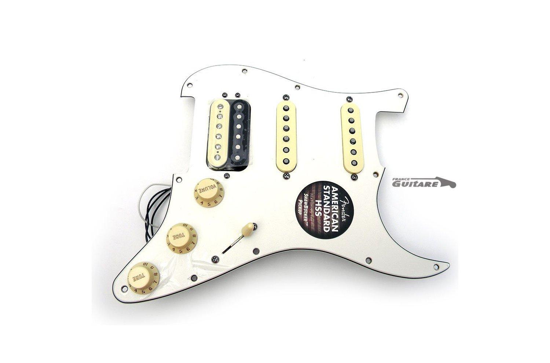 micro guitare hss
