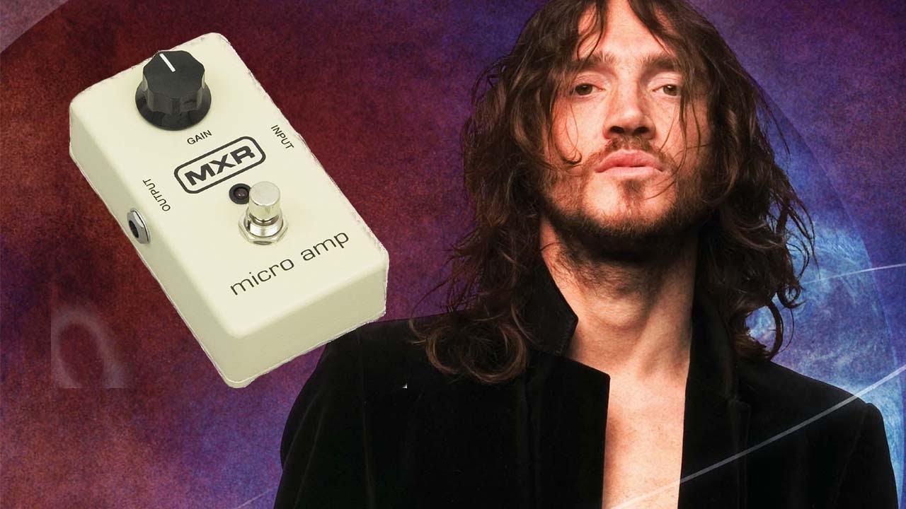 micro guitare john frusciante