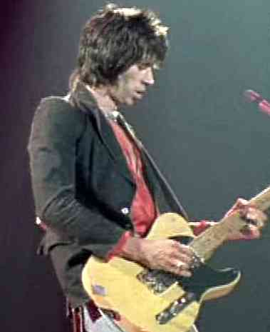 micro guitare keith richards