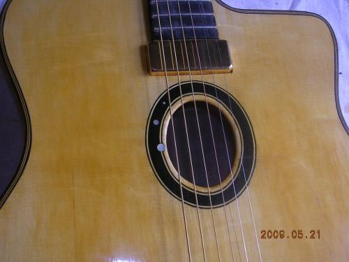 micro guitare manouche audio technica