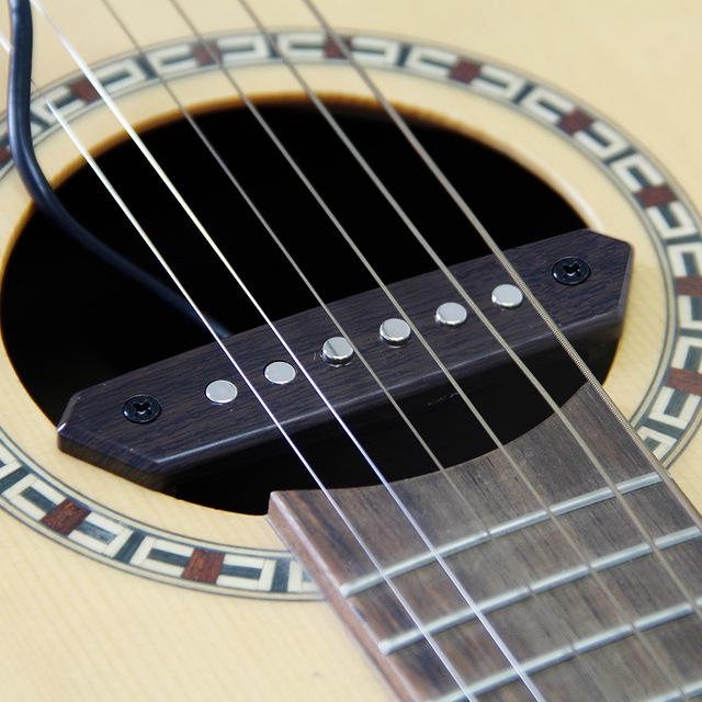 micro guitare passif pour metal