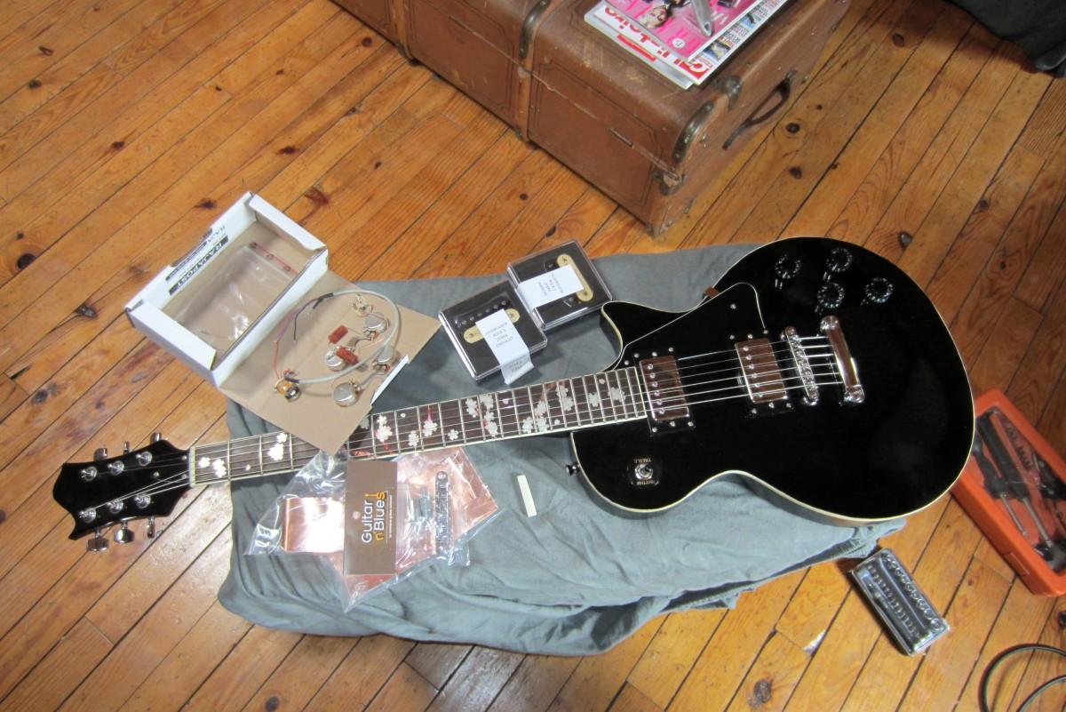 micro guitare pour le blues