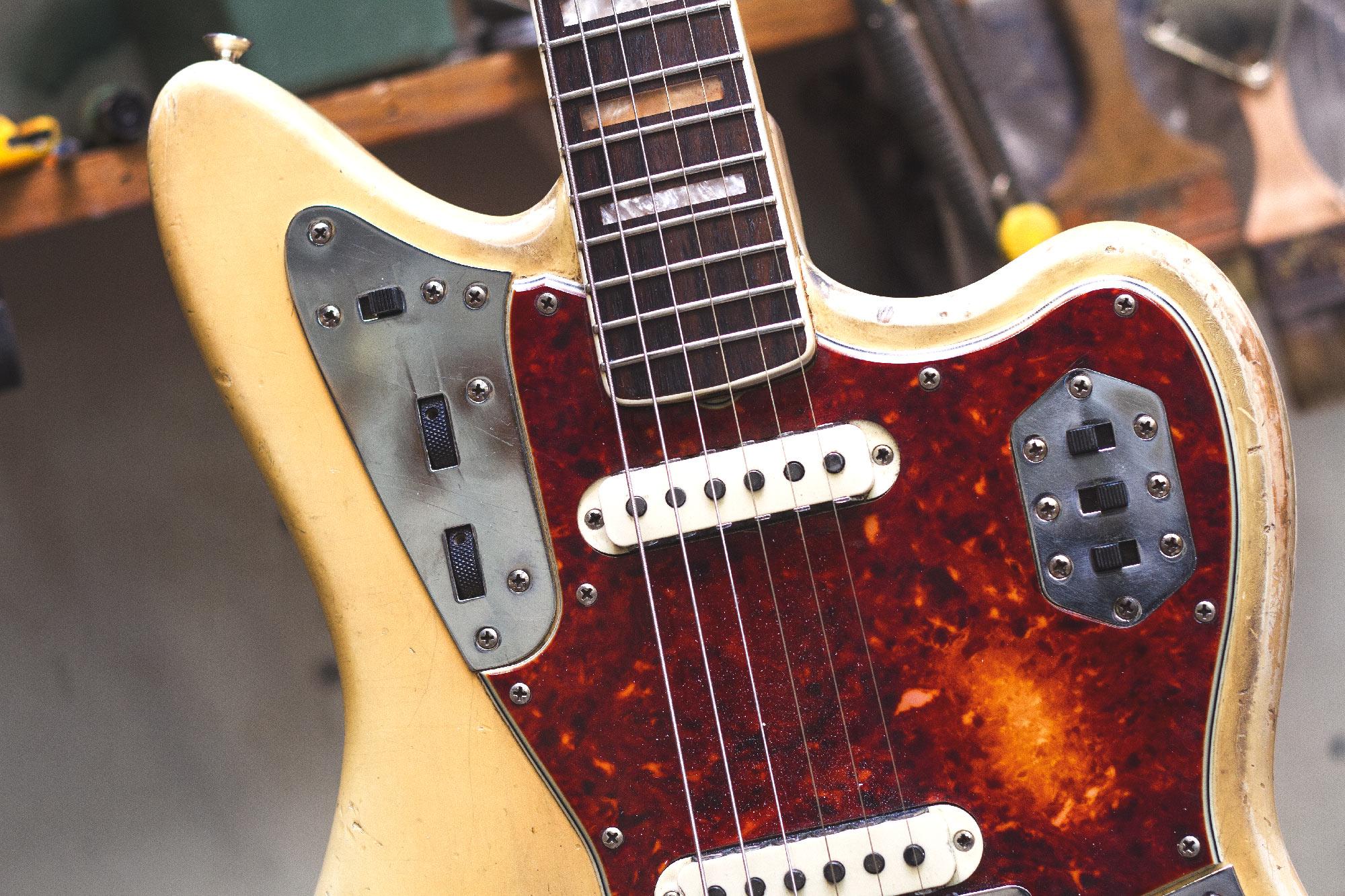 micro guitare qui bouge