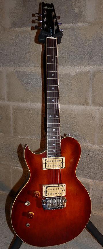 micro guitare qui sature