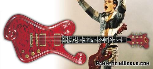 micro guitare rammstein