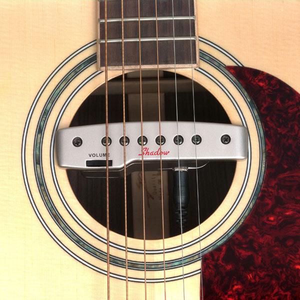 micro guitare rosace