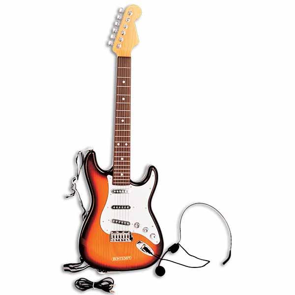 micro guitare rose