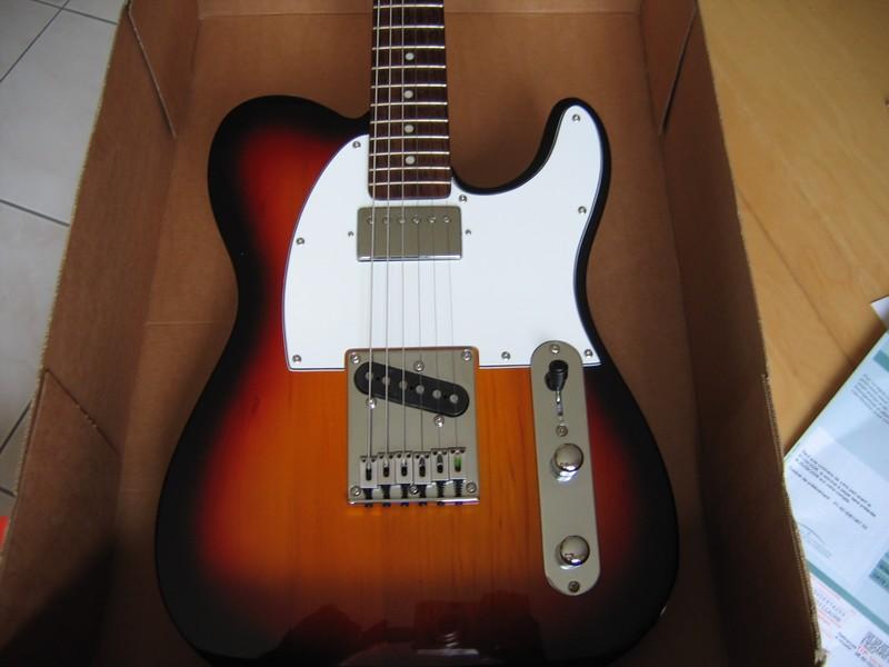 micro guitare telecaster