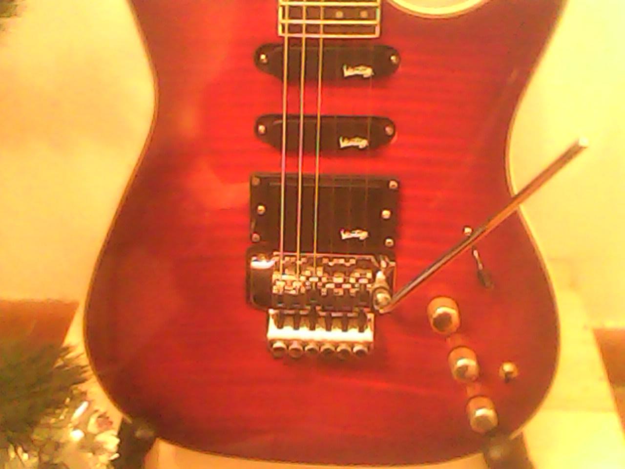 micro guitare vantage