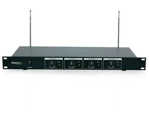 micro sans fil 4 canaux