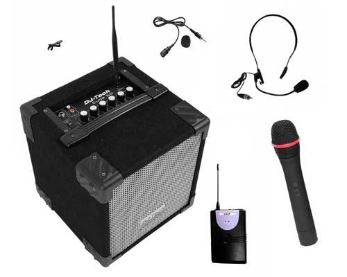 micro sans fil avec amplificateur
