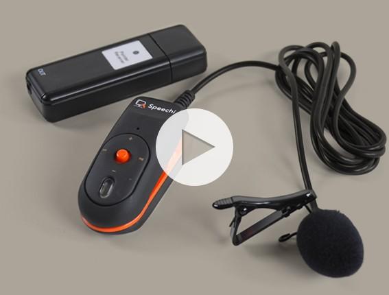 micro sans fil discret