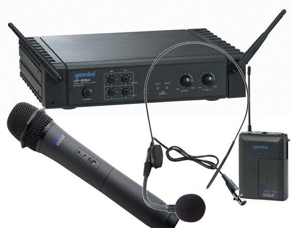 micro sans fil et amplificateur
