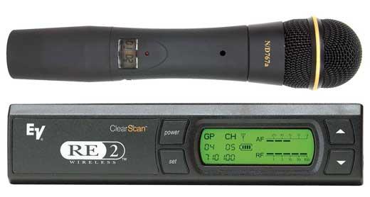 micro sans fil ev