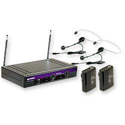 micro sans fil gemini vhf-2001 hl