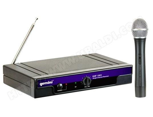 micro sans fil gemini