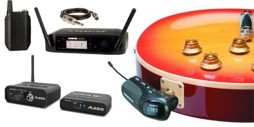 micro sans fil guitare